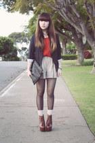 blazer - Jeffrey Campbell heels