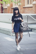 chanel fucck t-shirt