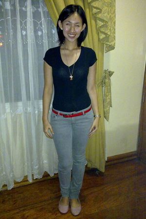Forever21 top - Forever21 jeans - cotton on shoes - from a bazaar belt - from a