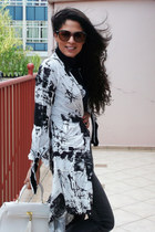 Aldo bag - DNKN jeans - lanvin sunglasses