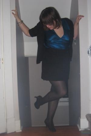 Rickis sweater - Ruby Slipper blouse - joe fresh style skirt - naturalizer shoes