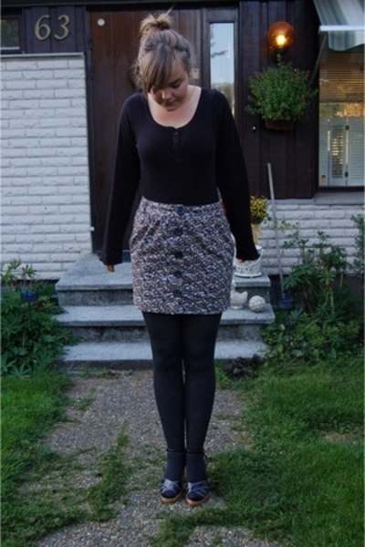 hlens skirt - lager 157 top - Din Sko shoes