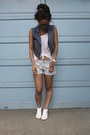 Lucca-couture-vest-aeropostale-shorts-h-m-sneakers-nordstrom-top