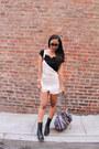 Black-lulus-boots-black-lulus-top-white-crochet-lulus-jumper