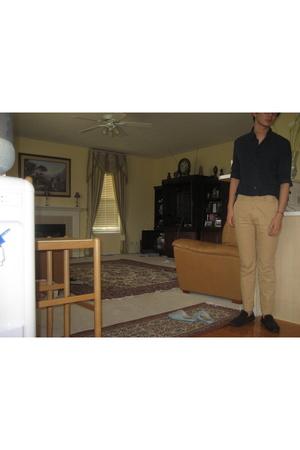 French Connection shirt - Bespoke pants - Zara shoes
