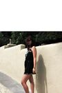 Black-forever21-boutique-dress-white-predictions-shoes-silver-forever21-acce