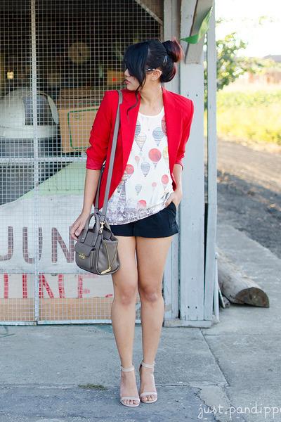 31 Phillip Lim for Target purse - basic Zara blazer - trouser Express shorts