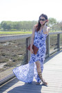 Blue-splatter-dress-peter-som-for-kohls-dress-tawny-clutch-the-limited-bag