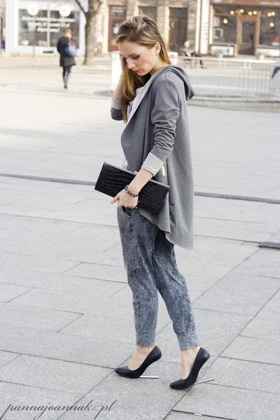 heather gray Vero Moda pants