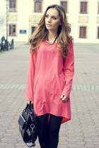 hot pink Vila dress