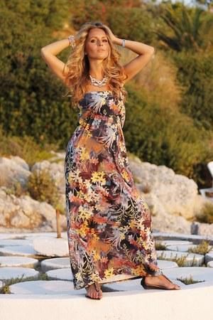 orange TK Maxx dress