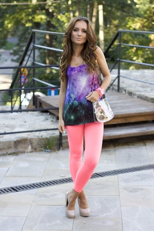 hot pink Atmosphere leggings