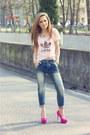 Bubble-gum-adidas-t-shirt