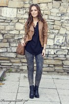 dark brown Mohito jacket