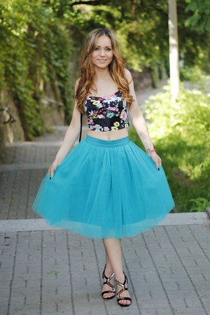 aquamarine unknown skirt