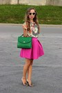 Green-house-bag-hot-pink-mohito-skirt