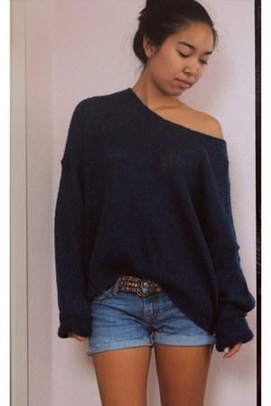 knit sweater - Le Voyage bracelet