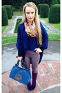 Deep-purple-asos-boots-light-purple-river-island-leggings-navy-romwecom-bag