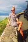 Silver-snake-print-h-m-dress-brown-river-island-sunglasses