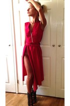 red Papicoco dress dress