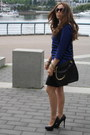 Zara-dress-michael-kors-bag-dior-sunglasses-aldo-pumps