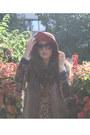 Brown-leopard-print-zara-blazer-beige-underground-flower-dress