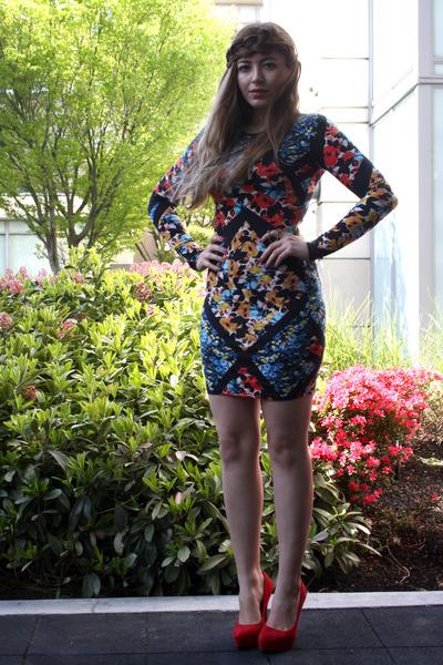 Topshop dress - Aldo heels