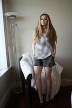 Zara shorts - Zara top - Aldo heels