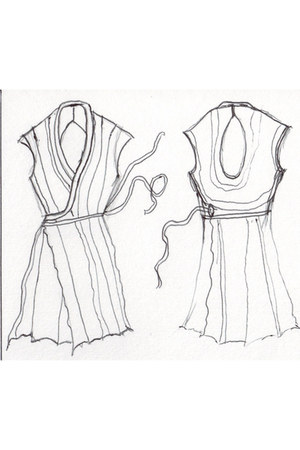 Exquisite Corpse dress