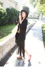 Mustard-nanda-shirt-black-nanda-skirt-red-nanda-acc-flats