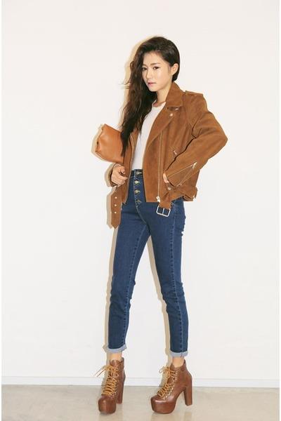 tawny jacket