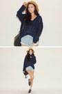 Light-blue-shorts-navy-top