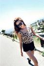 Tan-leopard-print-style-nanda-shirt-black-boots