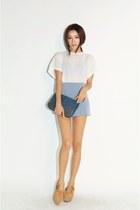 periwinkle skirt