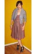 H&M dress - H&M jacket - Nine West shoes