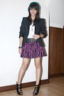 White-topshop-top-black-zara-belt-pink-h-m-skirt-black-house-of-high-heels