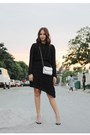 Black-zara-dress-silver-jimmy-choo-bag-black-valentino-heels