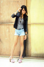 Turned-top-topshop-dress-coexist-jacket-denim-forever-21-shorts-h-m-belt-