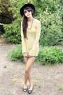 Forever-21-hat-random-from-bangkok-sweater-denim-random-from-bangkok-shorts-