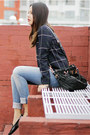 Black-prada-bag-black-tods-loafers-navy-zara-top