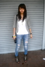 Silver-randomly-found-in-my-sisters-closet-cardigan-white-topshop-blue-diy-j