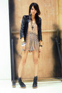 Heather-gray-bodycon-topshop-dress-black-coexsist-jacket-black-andre-chang-h