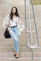 Cheap Monday jeans - black Prada bag