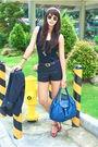 White-aranaz-black-forever-21-gucci-black-mango-shorts-red-cmg-blue