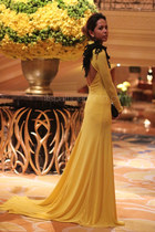 yellow eric delos santos dress