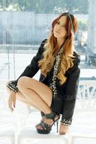 black studded Madz Owns This blazer