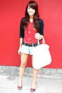 Black-cardigan-red-spain-jersey-forever-21-shorts-white-lulu-black-betse