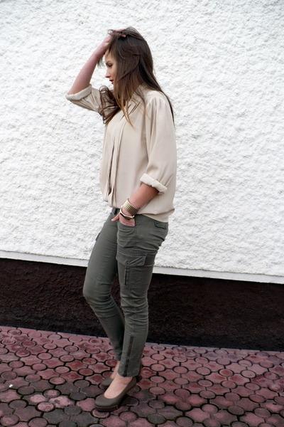 CCC shoes - vintage shirt - H&M pants