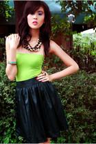 Mango top - IconiQue skirt
