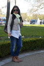Navy-j-brand-jeans-beige-bcbg-maxazria-jacket-white-stockh-lm-blouse